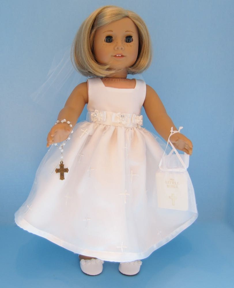 american girl doll first communion tea crosses. Black Bedroom Furniture Sets. Home Design Ideas