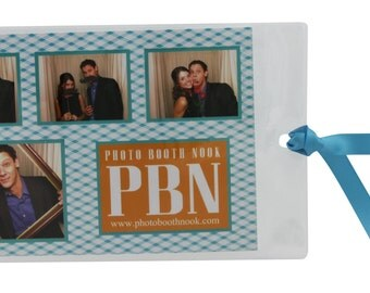 4X6 Premium Vinyl Photo Booth Bookmark Picture Sleeves