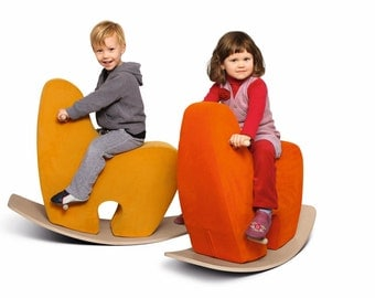 Rocking Horse GOOGY - designed to provide fun, safety, comfort    - soft and appealing, very well cushioned, extremely difficult to overturn