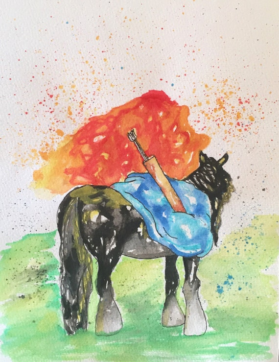 brave watercolor by bezawesome - photo #24