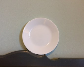 "Four+ Corelle Winter Frost White 6.5"" Bread / Dessert / Side Plates"