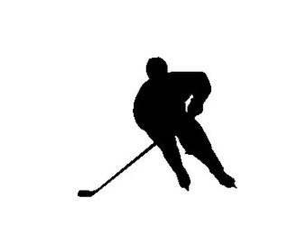 Ice Hockey Player - Car/Computer/Home Wall Art/Phone/Truck/Home/Laptop Decal