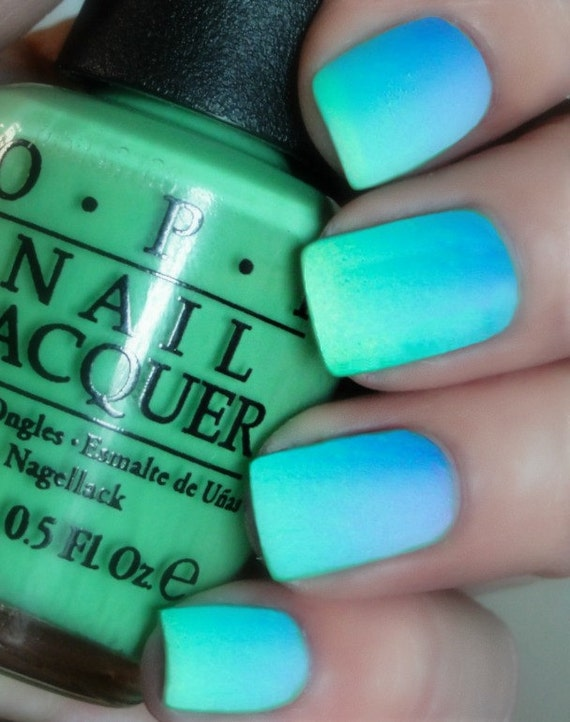 Opi Caribbean Ombre Matte Maniyou Are So Outta By Lovethosenails