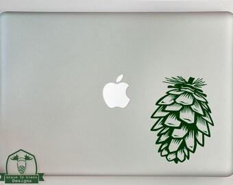 Pinecone Print Macbook Laptop Decal