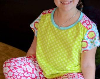 Girls Pajama Pattern Etsy