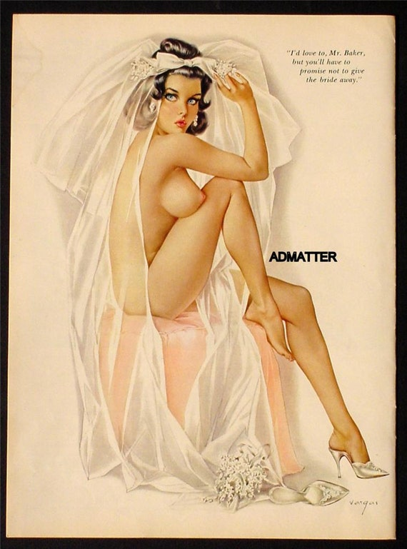 Vintage Nude Pin Up 98