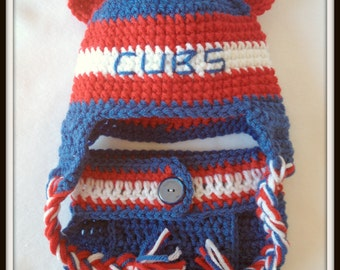 Chicago Cubs Baby-Chicago Cubs Baby Girl-Cubs Gifts-Cubs Baby-Baseball Gifts-Baby shower Gifts-Chicago Cubs Decor-Cubs Baseball Cap-MLB Hats
