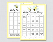 Bumble Bee Baby Shower Bi...