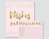 Pink and Gold Wishes for ...