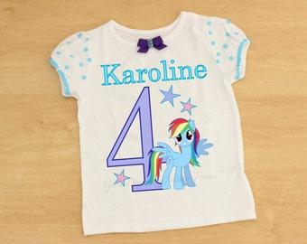 My Little Pony Birthday Shirt, My Little Pony Outfit, My Little Pony Dress, My Little Pony Personalized Shirt, My Little Pony Shirt, Prop