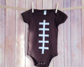 Baby Football Onesie, Baby Football Outfit, Newborn Football Onsie, Boys Football Clothing