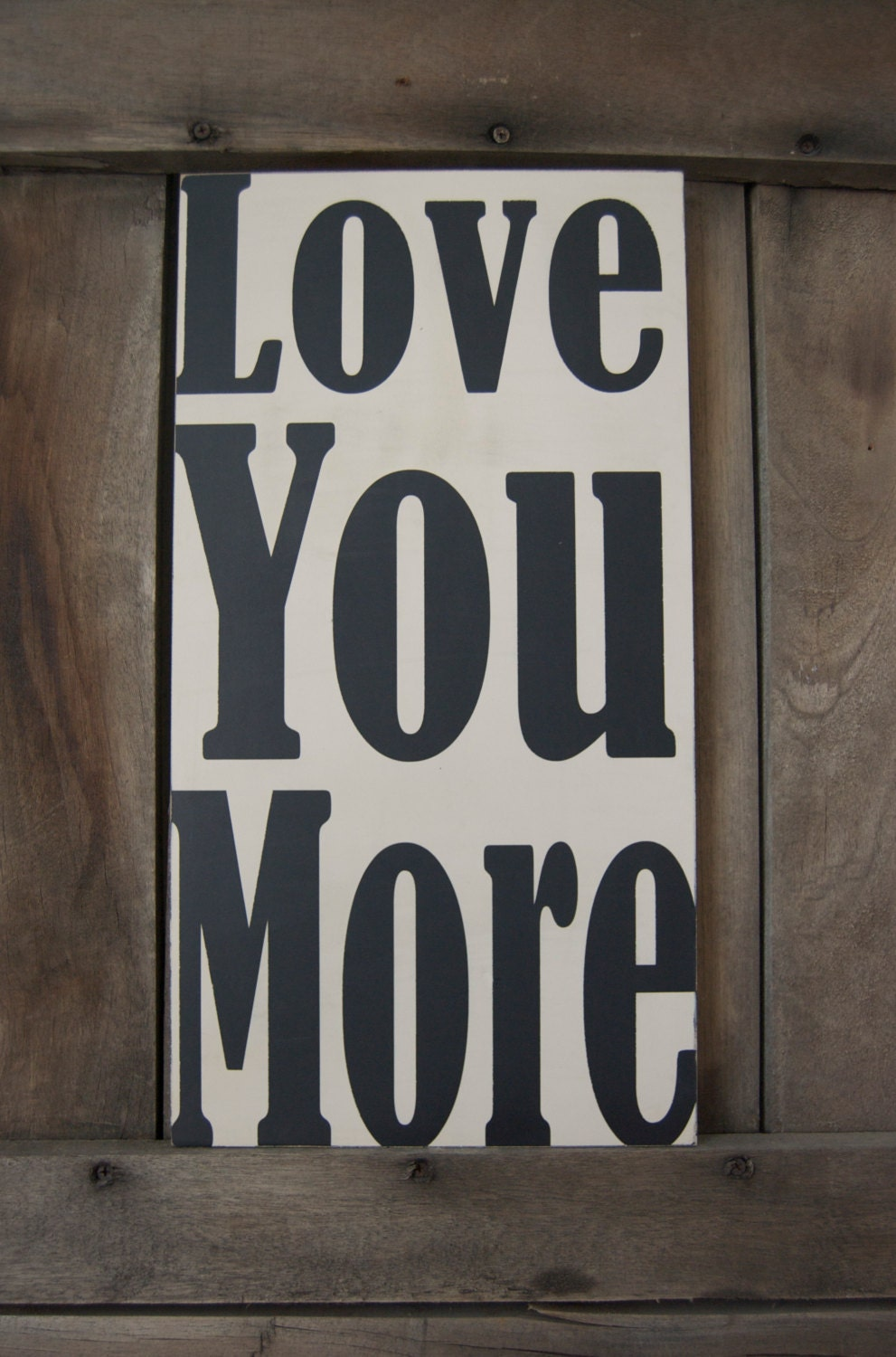 Wall Art Love You More : Moved permanently