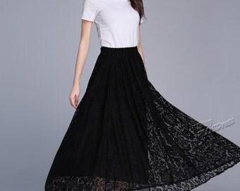 Anysize lace expansion skirt plus size skirt plus size clothing summer skirt summer clothing Y56