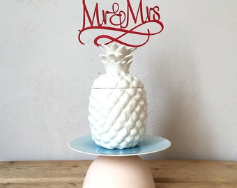 Cake topper - Mr & Mrs - wedding