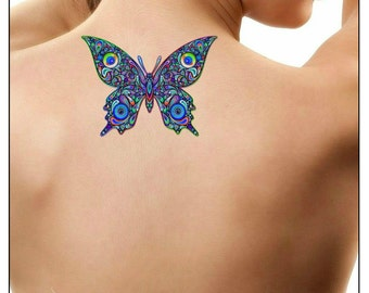 Temporary Tattoo Butterfly Fake Tattoo