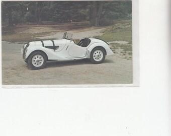 1938 B M W 328 Sports Roadster Postcard