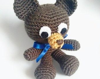 Soft amigurumi bear