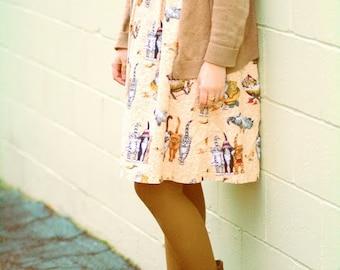 Quirky Cat Dress