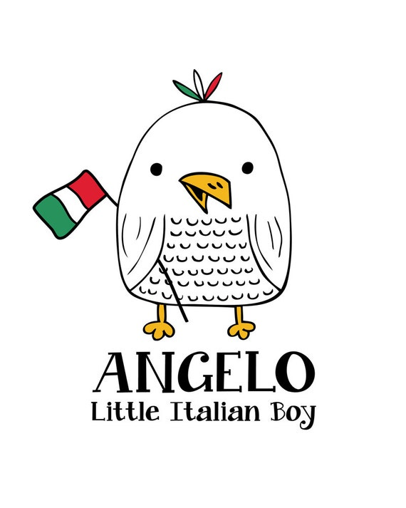 Italian Boy Name: Items Similar To Italian Boy, Wall Art Baby Names, Print