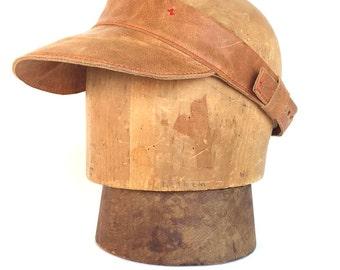 Leather Visor - Ventura Leather Visor  - < < Free US Shipping > >