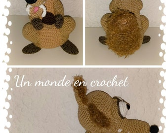 Tutorial in french for squirrel 25 cm high