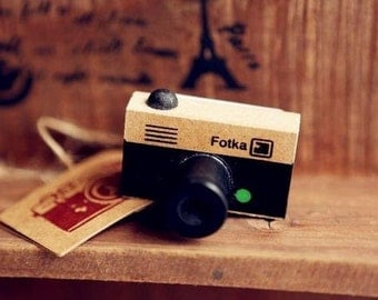 Stamp camera vintage