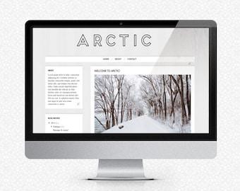 Arctic: Premade Blogger Template