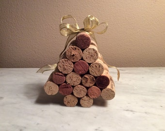 Decorative Wine Cork Christmas Tree