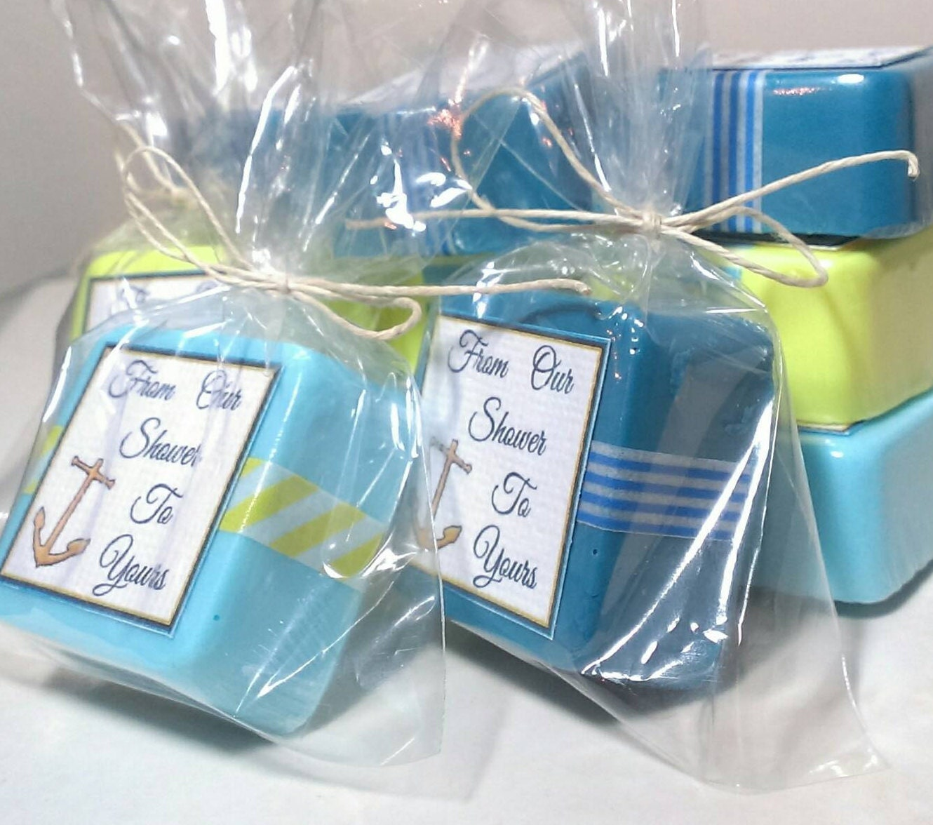 Baby Shower Favors Nautical Theme ~ Nautical baby shower favor soaps party favors