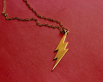 The FLASH - Barry Allen - lighting necklace - 4 colors available