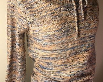 1970s space dye sweater
