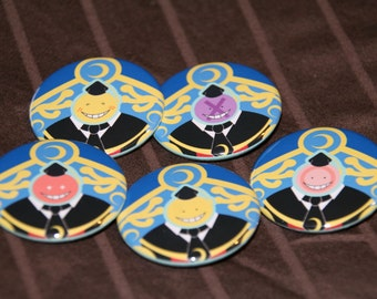 "Assassination Classroom - 1.5"" inch buttons"