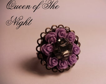 Queen of The Night | Womens Ring