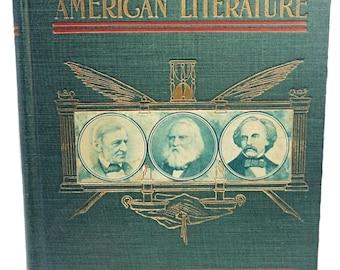 1901 Century America Literature Lives & Portraits Favorite Authors Nice