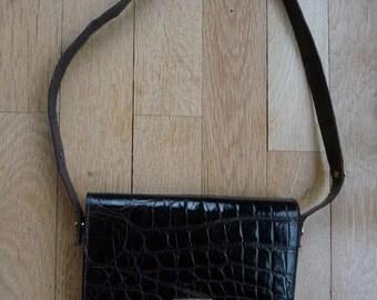 Small bag crocodile, vintage