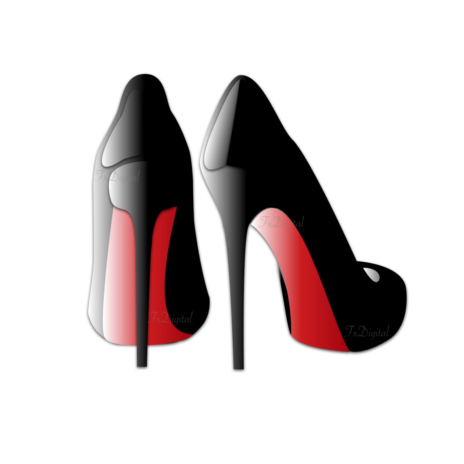 Clip Art Heels Clipart heels clipart etsy red high clip art sexy graphic shoe black vector transparent background image logo