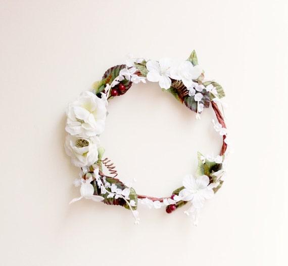 DIY Flower Crown Kit Just Add Glue Boho Bridal By Whichgoose