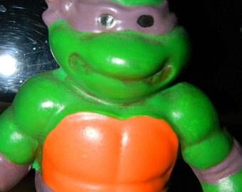 Teenage Mutant Ninja Turtle Figurine, Donatello, Purple Mask, Bookshelf Decor, Ceramic Figurine