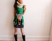 Frida Dress - Vogue Frida - Dress - Frida Khalo - Green