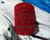 Gift for Valentines Day Mens Gift for Him Valentines Day Gift for Her on Valentines Day Gift for Sweetheart Personalized Fishing Lure Gift