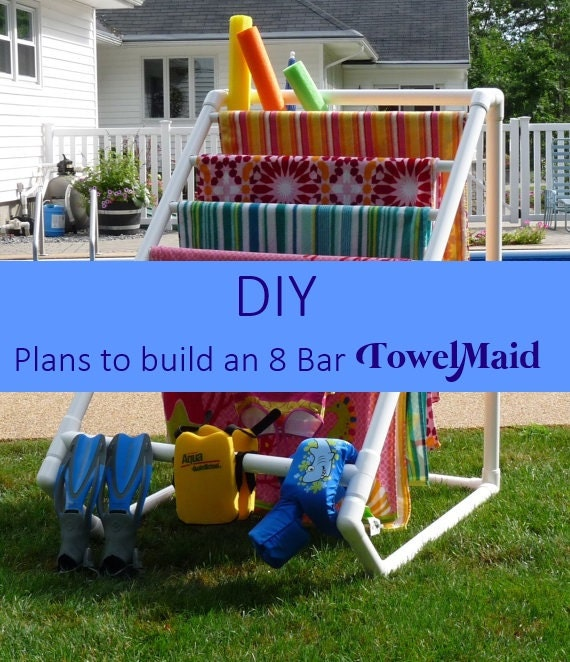 DIY Plans to build 8 Bar TowelMaid Towel Rack