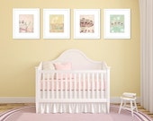 pastel nursery art carnival photography set pastels wall art baby girl little girls room decor 8x10 nursery prints