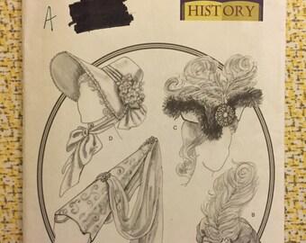 Butterick 3805 * Historical Hats Pattern * All Sizes * Princess Costume Pattern