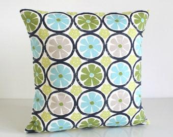 16 Inch Pillow Cover, 16x16 Pillow, Cushion Cover - Citron Lush