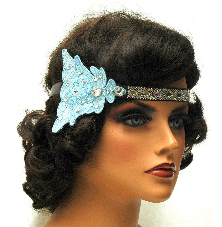 1920s Rhinestone Headband Flapper Hair Accessories Great