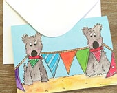 PRINTED CARD Scottie Bunting