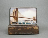 Belt Buckle Vintage Brooklyn Bridge Unique Gift For Men Or Women