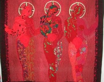 Three Goddesses Impervious to Desire
