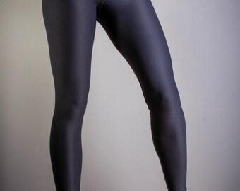 Black Leggings- Soft Sheen