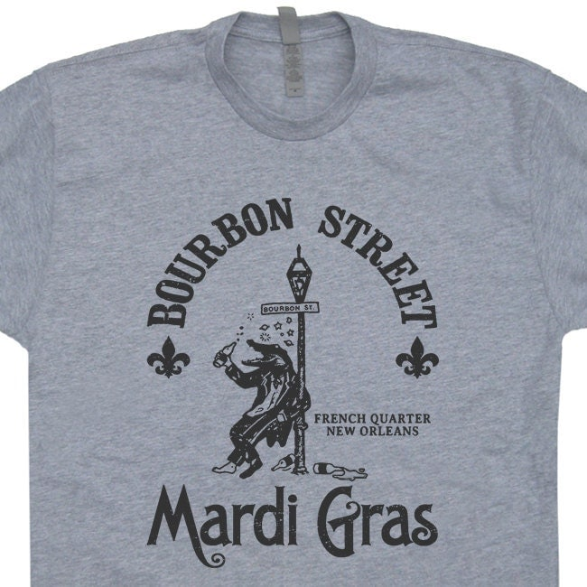 Mardi Gras T Shirt Vintage New Orleans T Shirt Funny Beer T